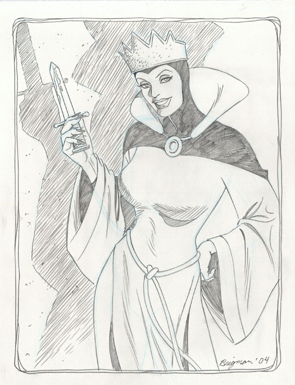 June Brigman - The Evil Queen