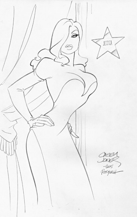 Casey Jones - Jessica Rabbit