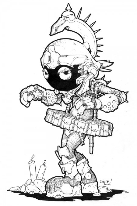 Seth Fisher - Marvin the Martian