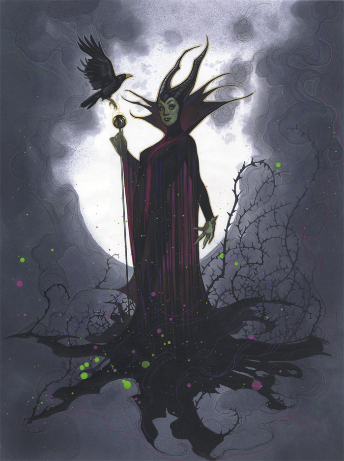 Adam Hughes – Maleficent