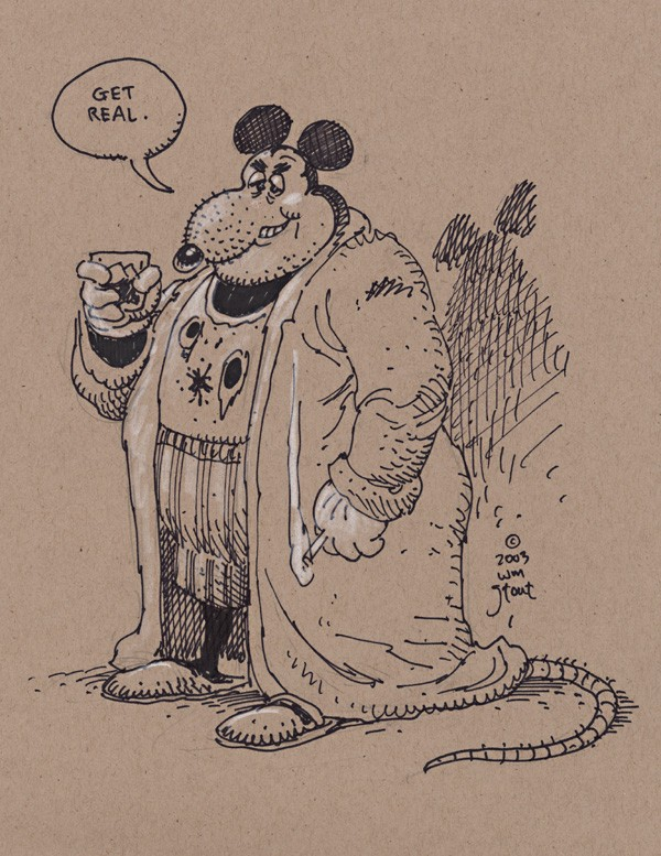 William Stout - Mickey Mouse - I Love Cartoons