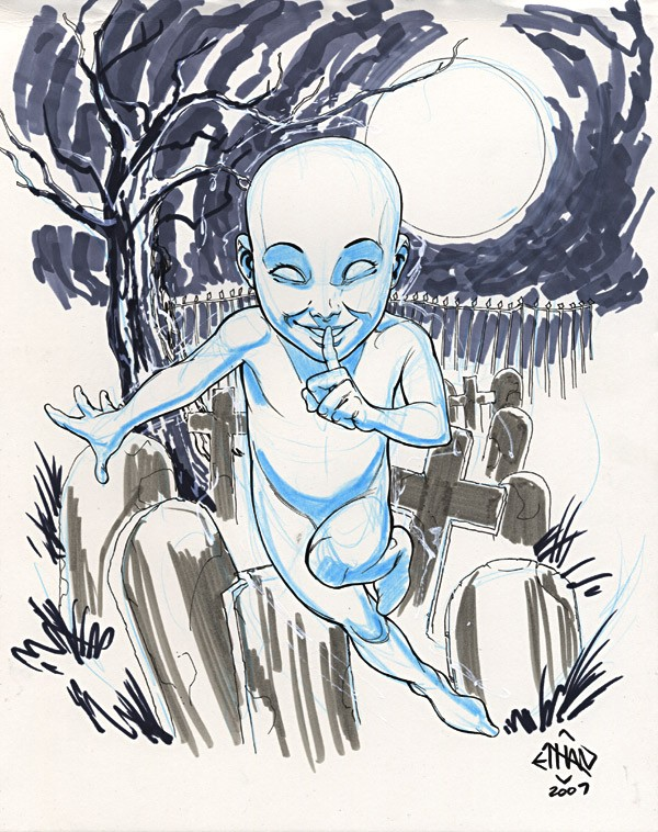 Ethan Van Sciver - Casper the Friendly Ghost