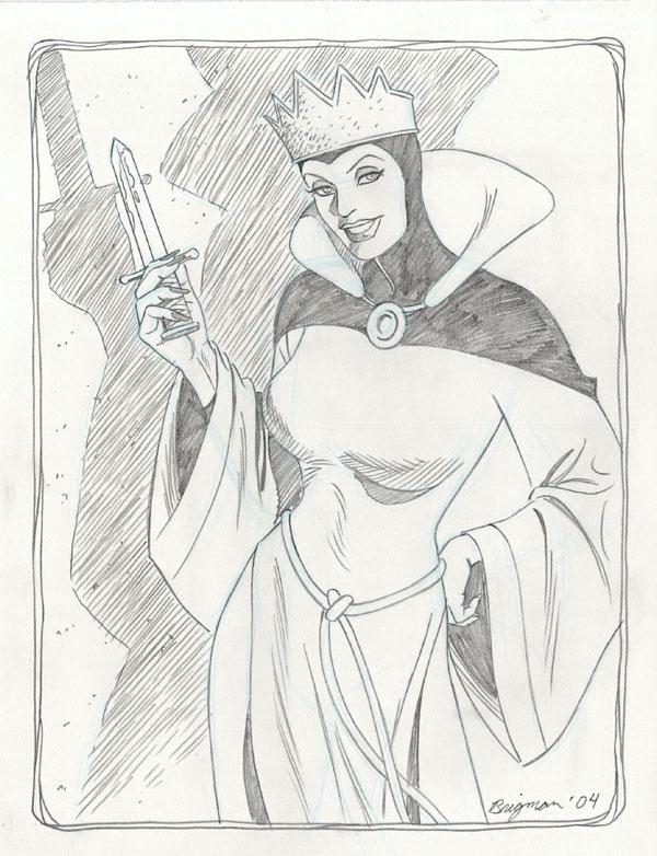 June Brigman - The Evil Queen
