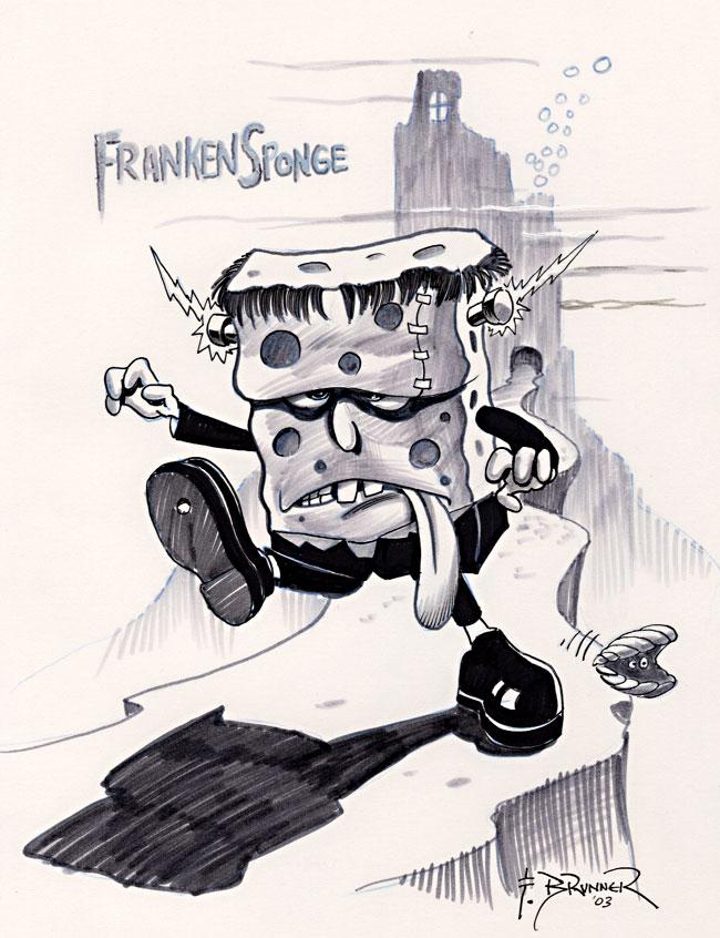 Frank Brunner - Spongebob