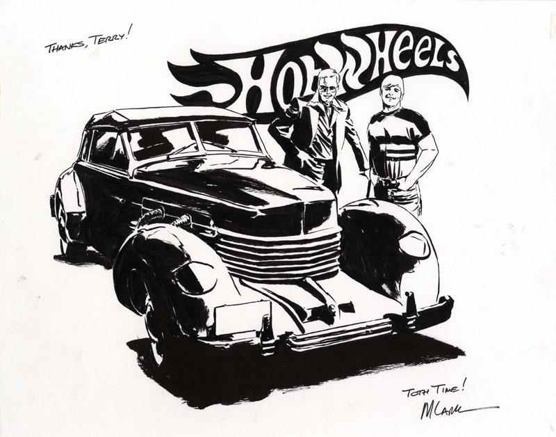 Michael Lark - Hot Wheels