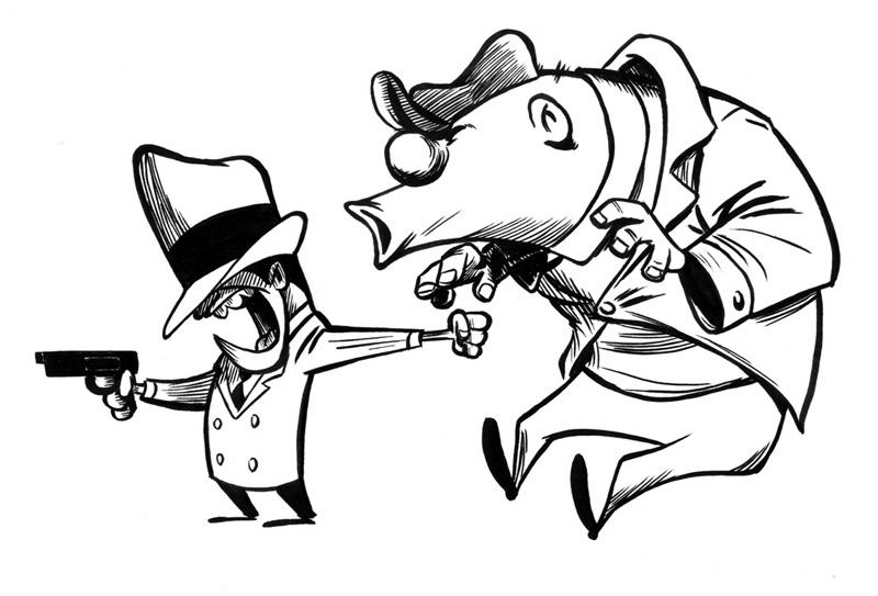 Chris Lopez - Rocky and Mugsy - I Love Cartoons