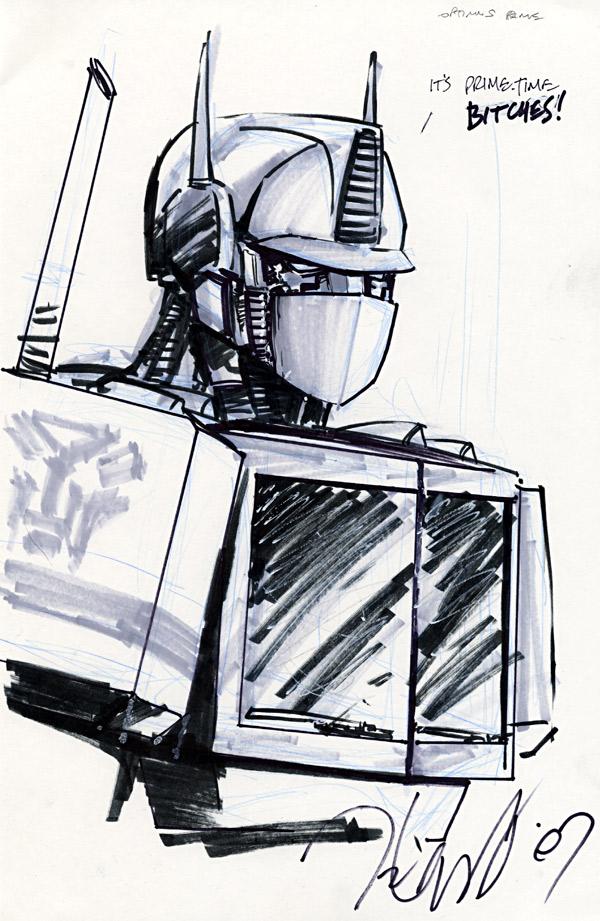 Talent Caldwell - Optimus Prime