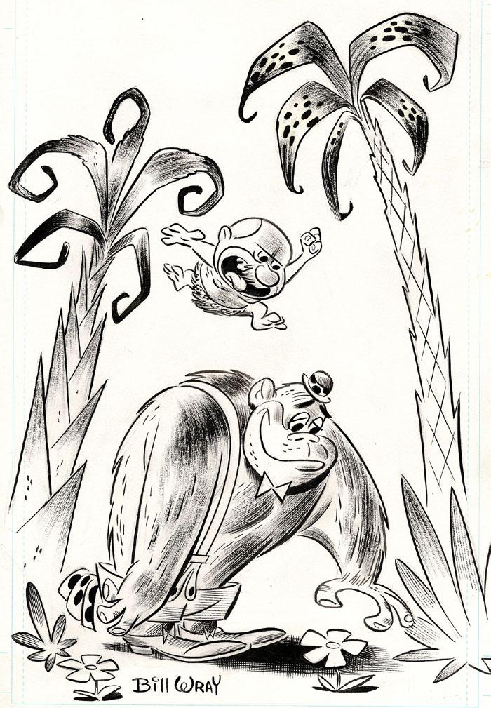 Bill Wray - Mr. Peebles and Magilla Gorilla